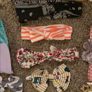 12 baby/toddler headband lot